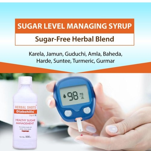 Sugar Control Syrup - Diabohills shots