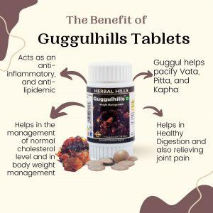 Guggulhills Tablets
