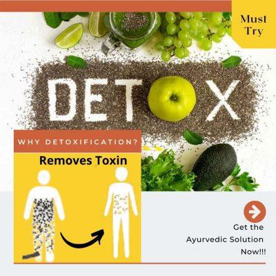 Ayurveda for detoxification