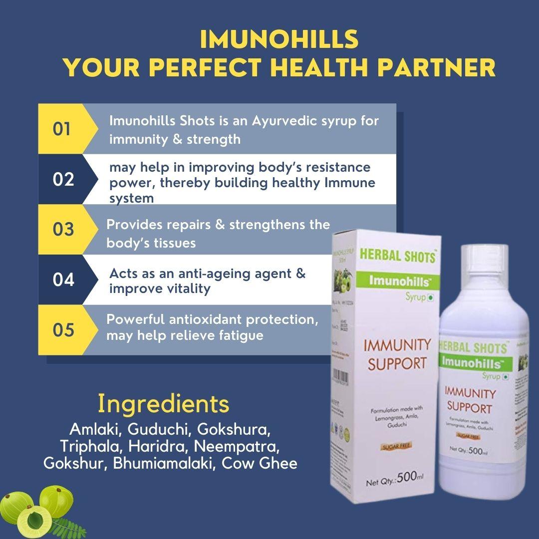 imunohills benefits