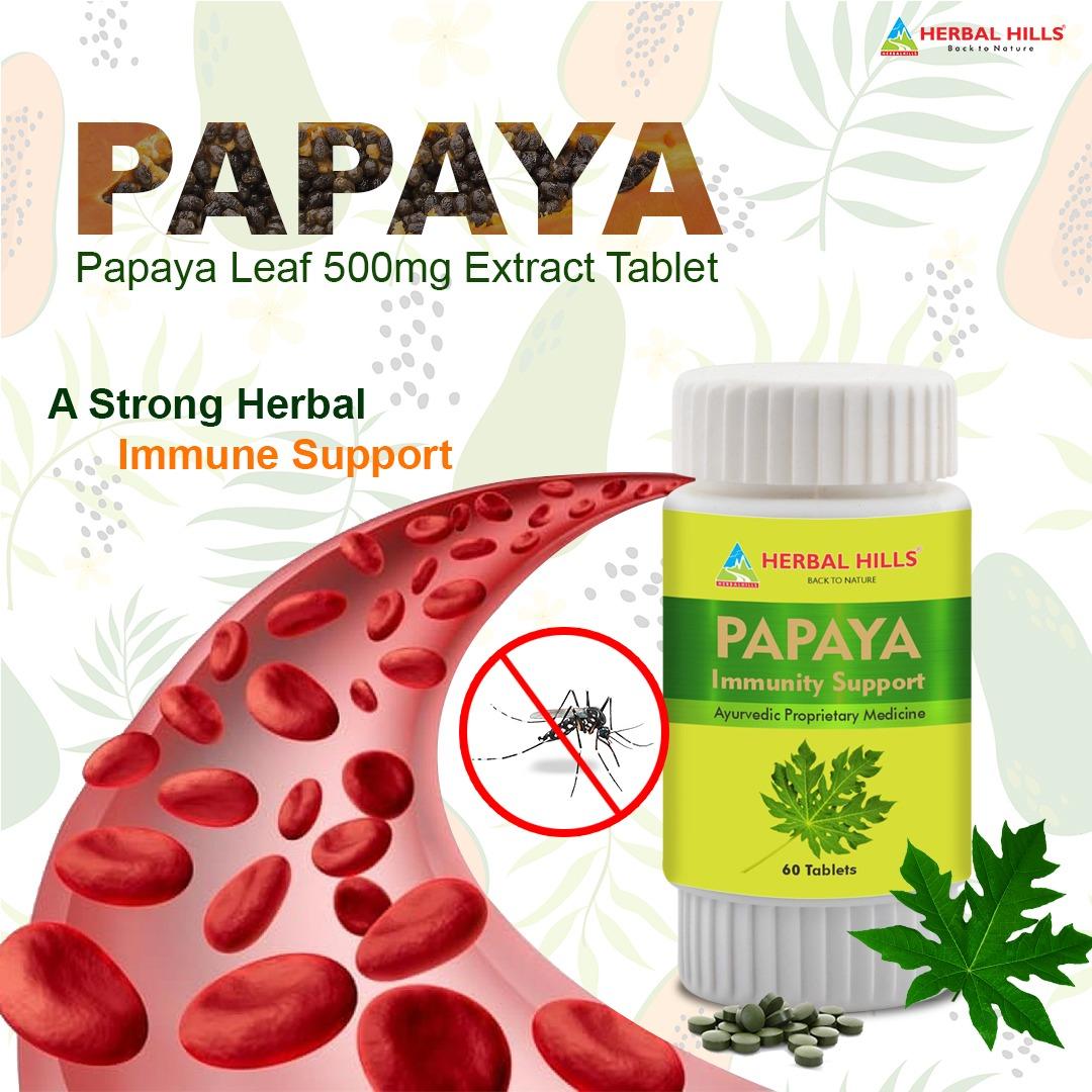 papaya tablets