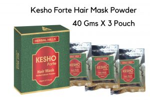 Kesho Forte Hair Mask Powder - 40gms - 3 Pouch for Healthy Hair